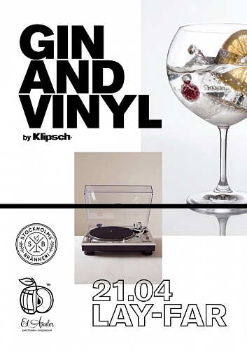 Вечеринка Gin and Vinyl by Klipsch